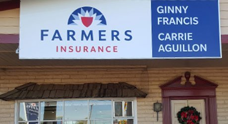 Ginny Francis & Carrie Aguillon Farmers Insurance Office
