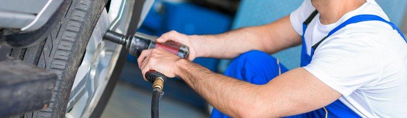 Tire rotation service