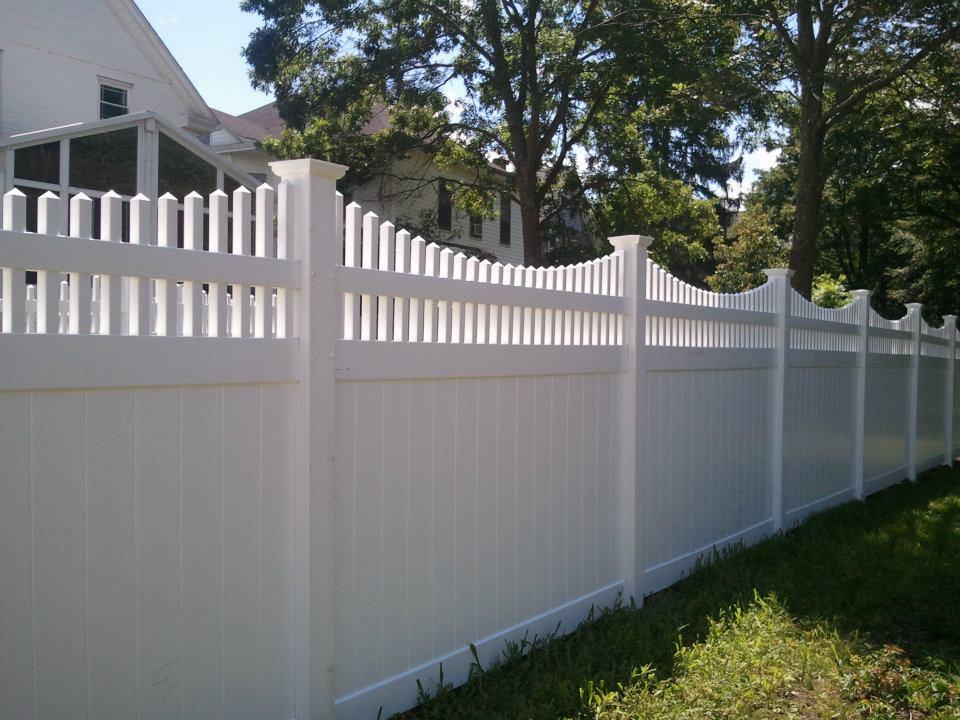 J C Fence Company Pvc Vinyl Fence Gallery Providence