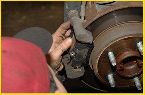 Changing brake