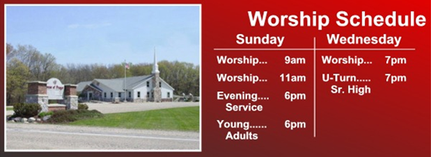 Worship Services   Haslett, MI   House of Prayer   517-339-6530