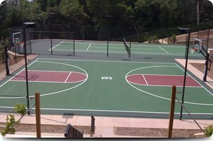 Tennis court construction | Palm Desert, CA | The California Court Builders | 760-341-0472