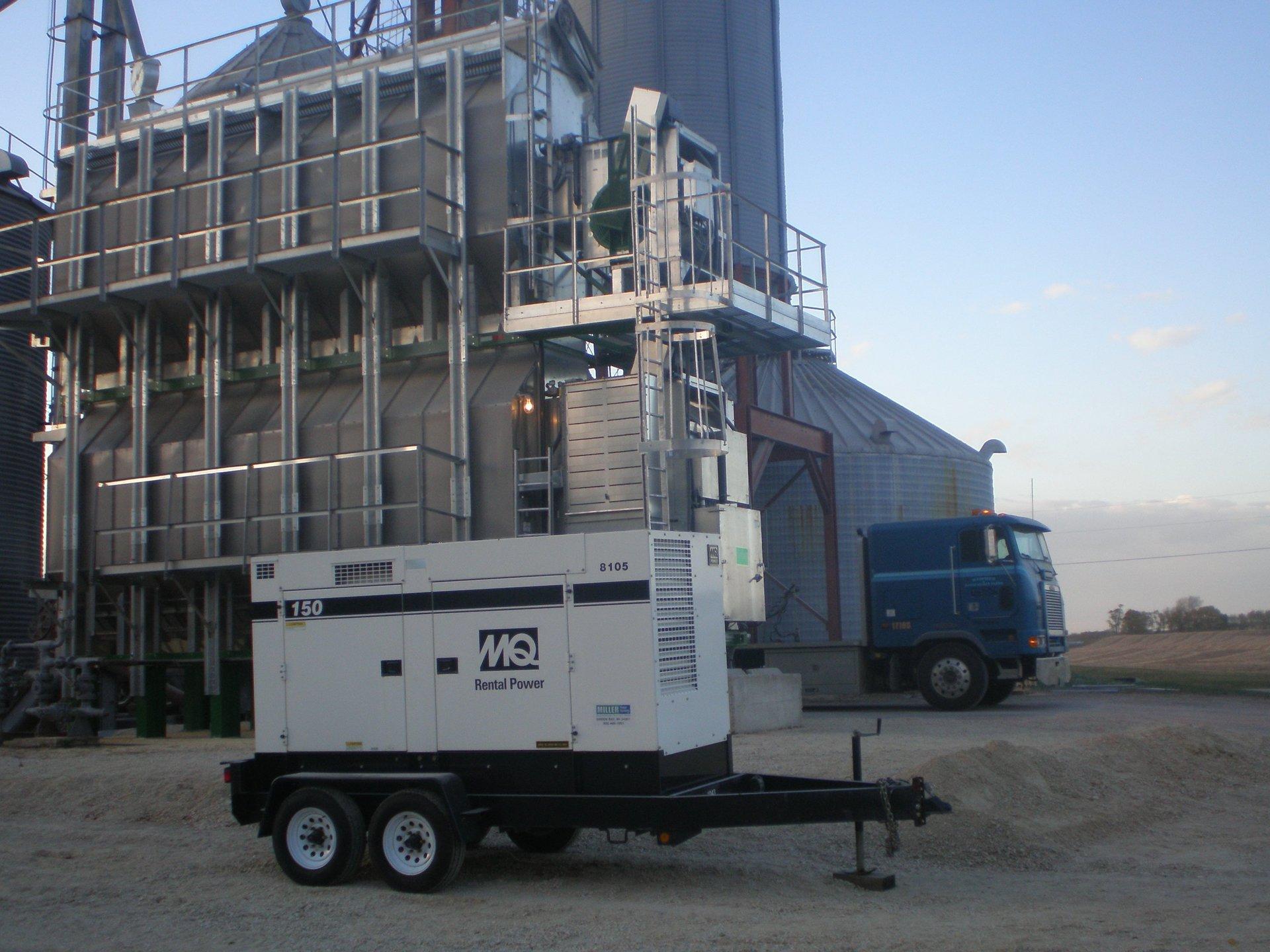 Diesel Generator Sales Used Generator