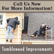 Gutters And Downspouts - Hutchinson, KS - Tumbleweed Improvements - Gutter Installation - Call Us Now For More Information!