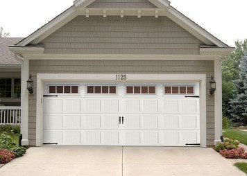 Merveilleux Blurred Lines. New Haas 18x8 660 Short Ribbed Carriage House Garage Door.