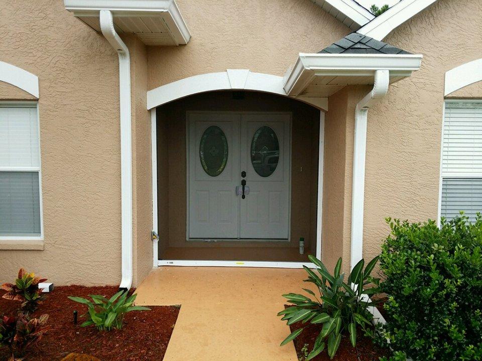 Motorized Screen Door Installation Front Entry Doors Sebring