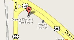 Green's Discount Tire & Auto of Greenville, Inc., 2066 Piedmont Highway Greenville, SC