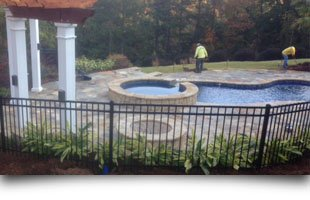 Swimming Pool Enclosure | Columbus, GA | Lowery Fence Company | 706-681-2660