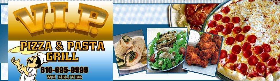 Family Restaurant - Malvern, PA - VIP Pizza, Pasta, And Grill