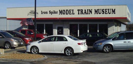 Iron Spike Model Train Museum Shop