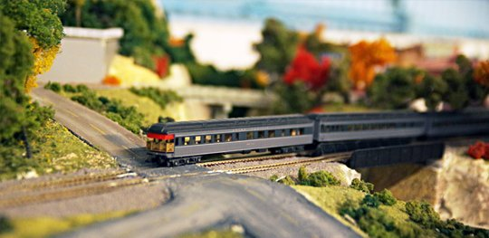 Model Train and Track