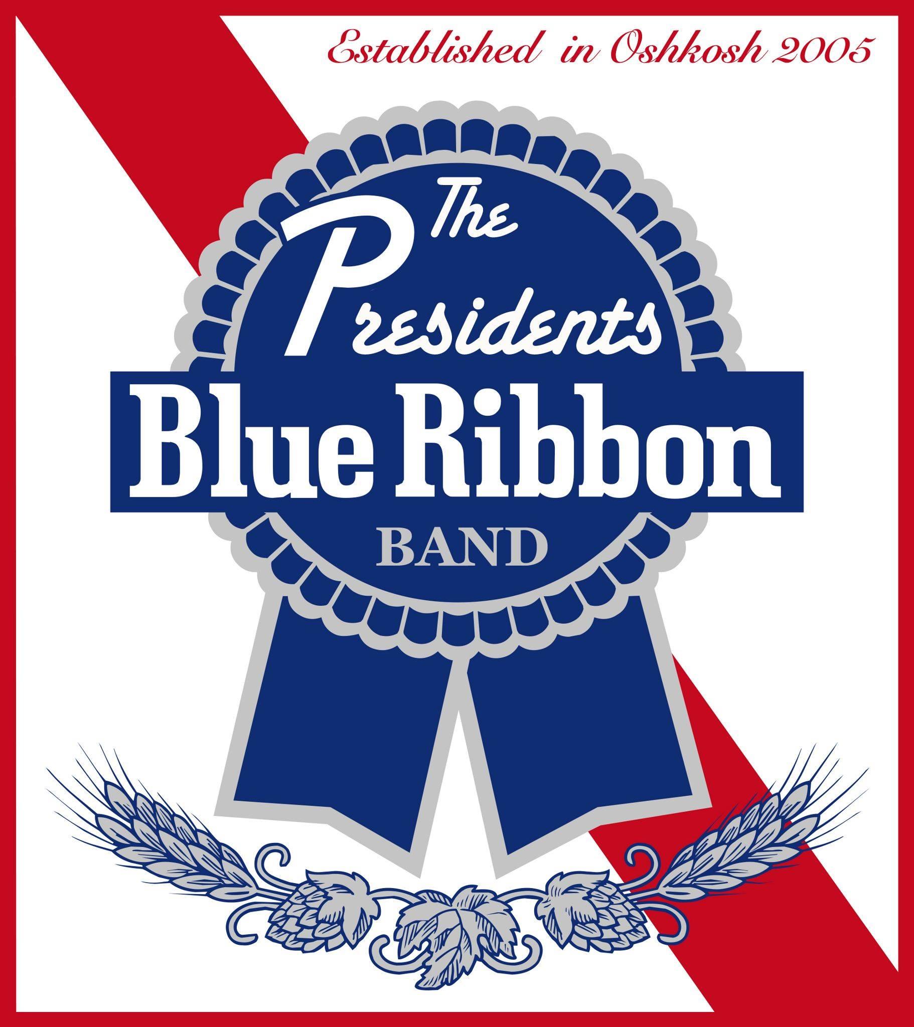 The president blue ribbon