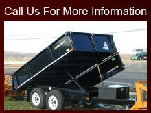 Trailers - Fort Worth, TX - Charles Lawhon's C&S Trailer World - dump trailer - Call Us For More Information