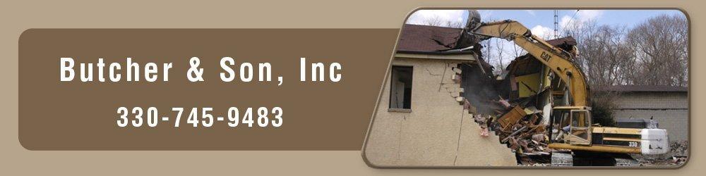 Demolition Contractor - Akron, OH - Butcher & Son, Inc
