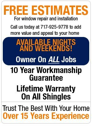 Window Installation and Repair - New Holland, PA - S D Fisher Exteriors