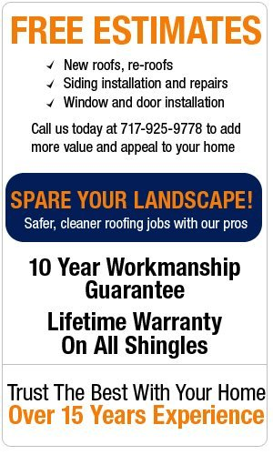 Roofing Contractors - New Holland, PA - S D Fisher Exteriors