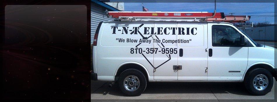 Electricians | Port Huron, MI | TNT Electric | 810-357-9595