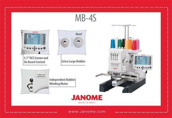 Janome - MB-4S