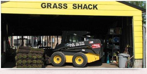 The Grass Shack | Des Moines, IA | Don White & Son Sodding | 515-289-2140