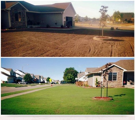 Seeding | Des Moines, IA | Don White & Son Sodding | 515-289-2140