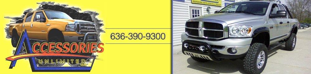 Truck Accessories - Washington, MO - Accessories Unlimited LLC