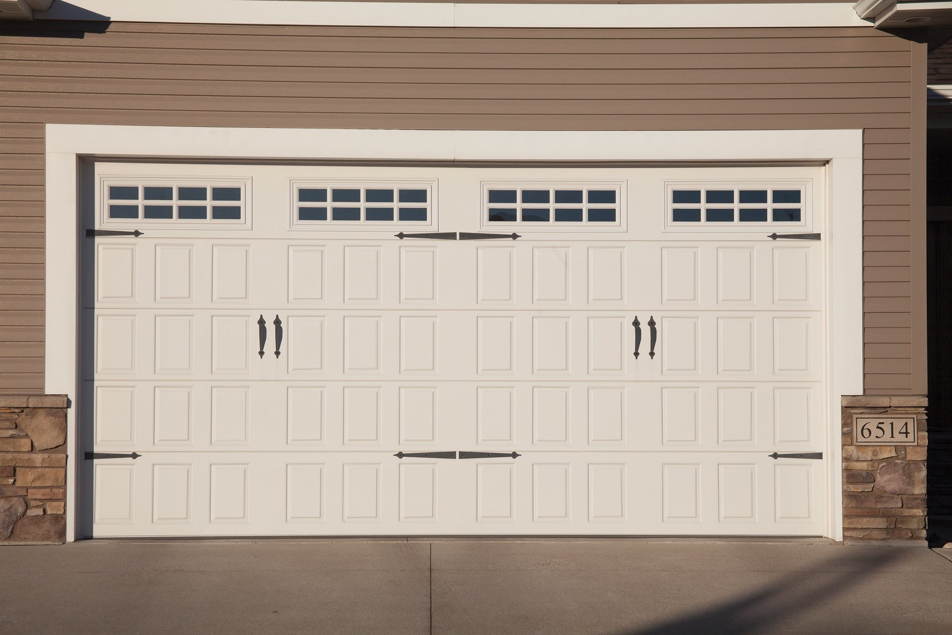 the grantham automatic garage white sectional double door company newark