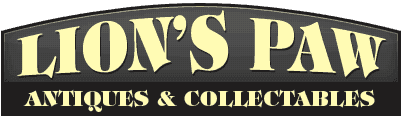 Lion's Paw Antiques & Collectables - Logo