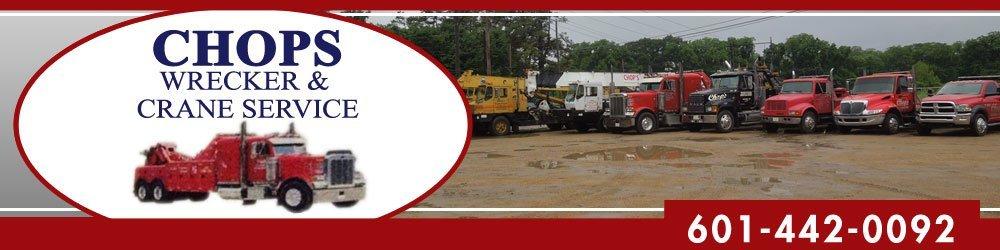 Road Service Natchez, MS - Chop's Wrecker Service