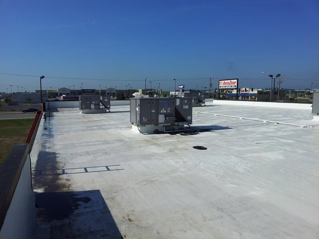 Low Slope Commercial Roof