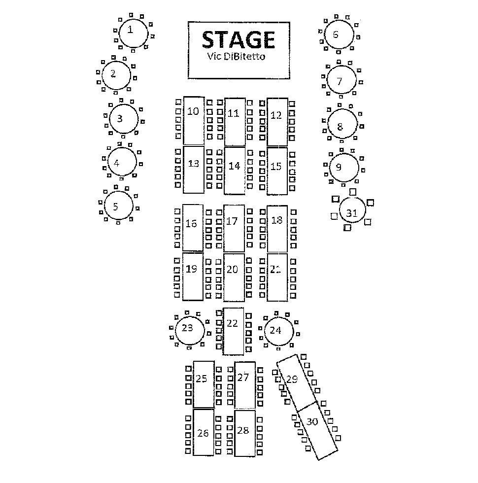 Seating Chart | Bristol, CT | Nuchie's Restaurant | 860-582-1108