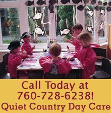 Day Care Center - Fallbrook, CA - Quiet Country Day Care - arts and crafts