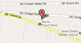 Burns Feed Store - 29215 Southeast Orient Drive, Gresham, OR 97080