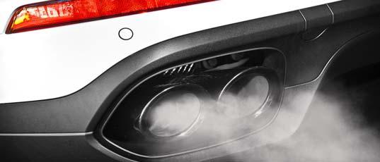 Exhaust emission