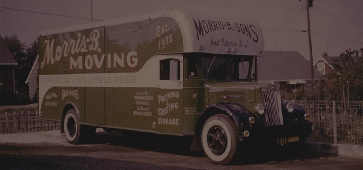 Old mover truck