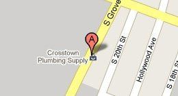 Crosstown Plumbing Supply 196 S Grove St  East Orange, NJ  07018-3913