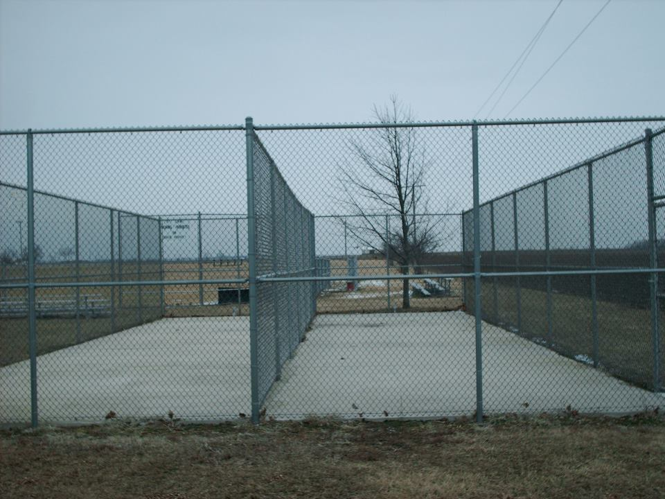 Industrial Fence Cantilever Style Gate Decatur Il