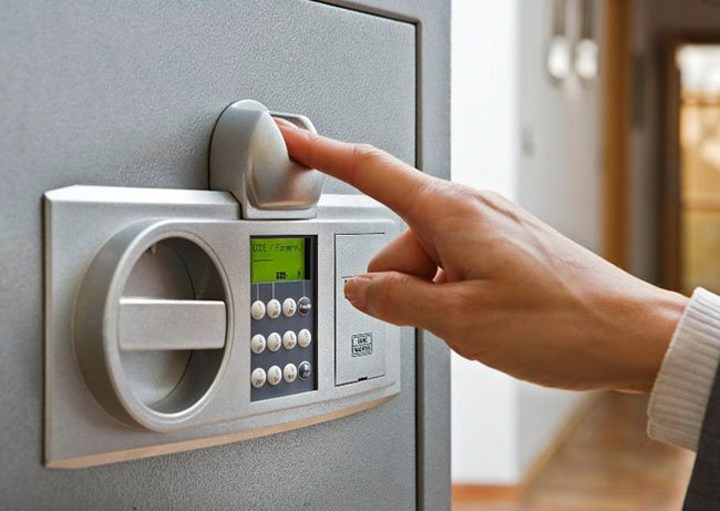 Burg Wachter German-made Burglar safe with Electronic Lock and Finger Scan Lock