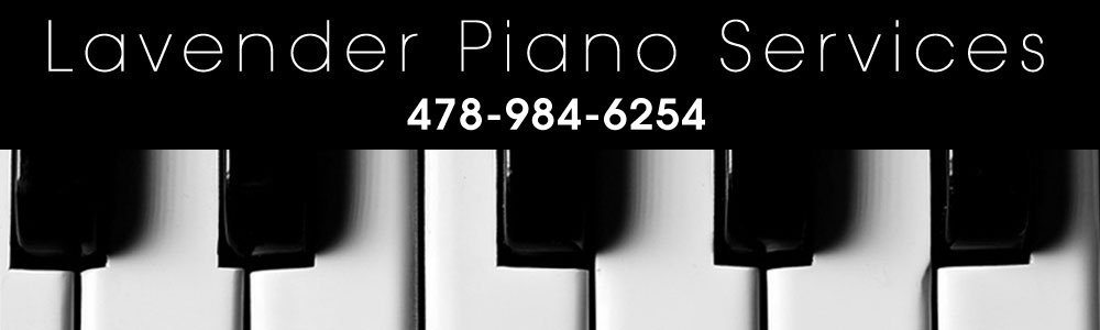 Piano Maintenance - Milledgeville, GA - Lavender Piano Services