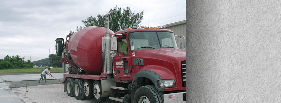 Concrete contractor and concrete mixer truck