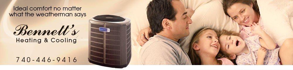 HVAC Service & Parts Gallipolis, OH - Bennett's Heating & Cooling
