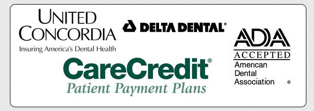 United Concordia | Delta Dental | CareCredit | ADA