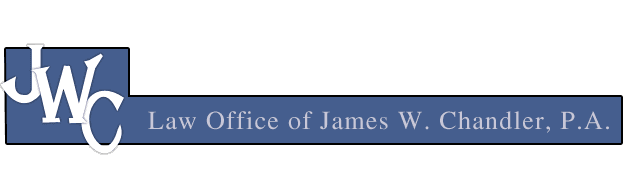 Law Office of James W. Chandler, P.A.  logo