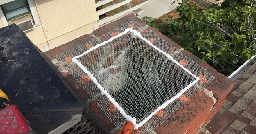 Chimney screen