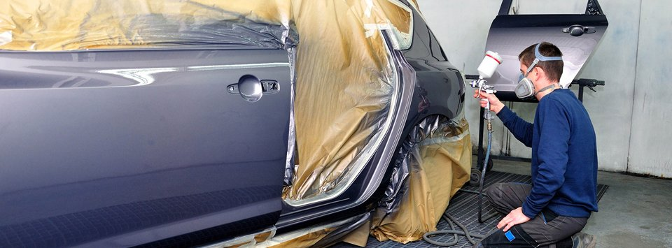 Auto body paint