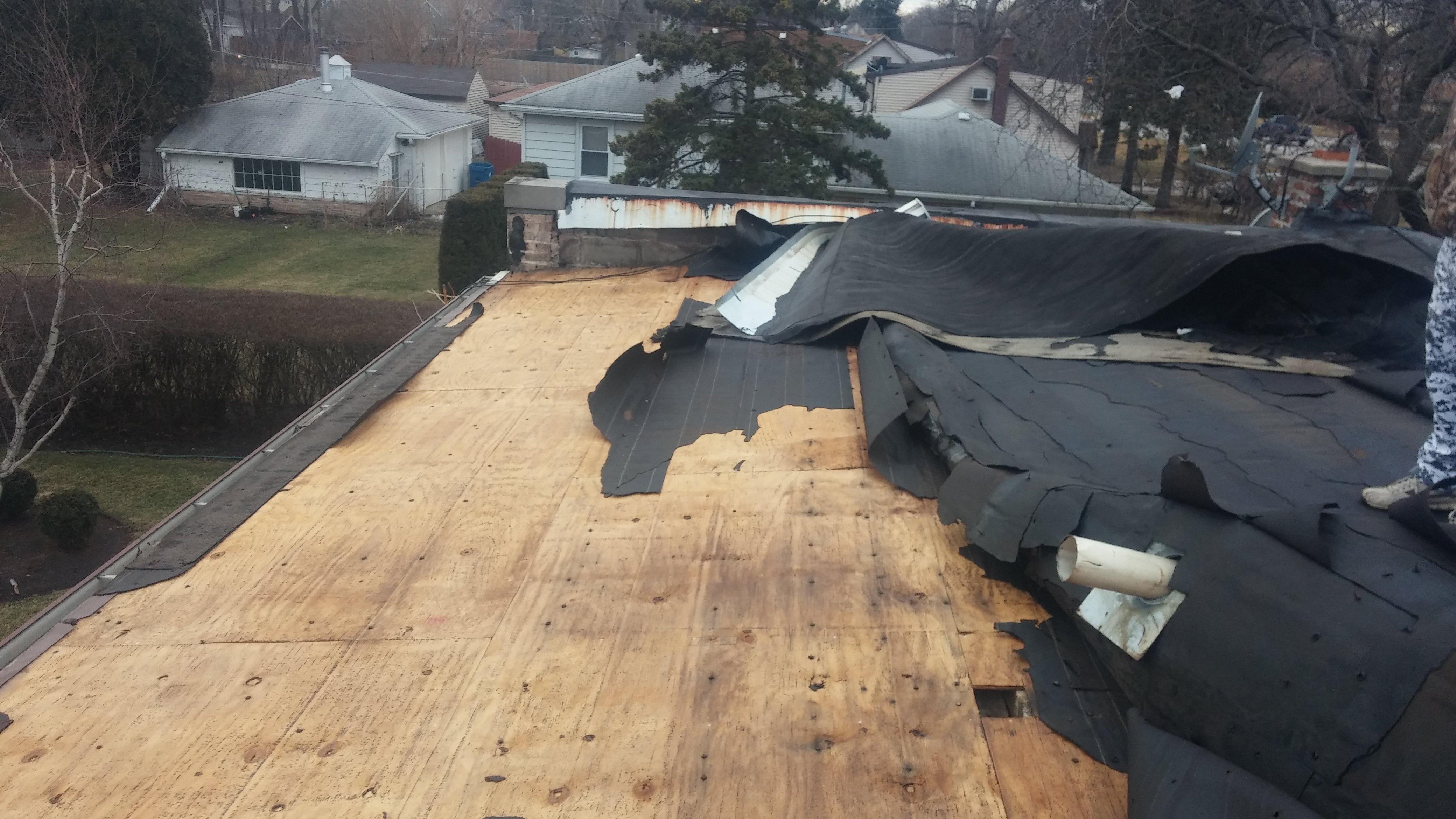 Rebuilt Roofing