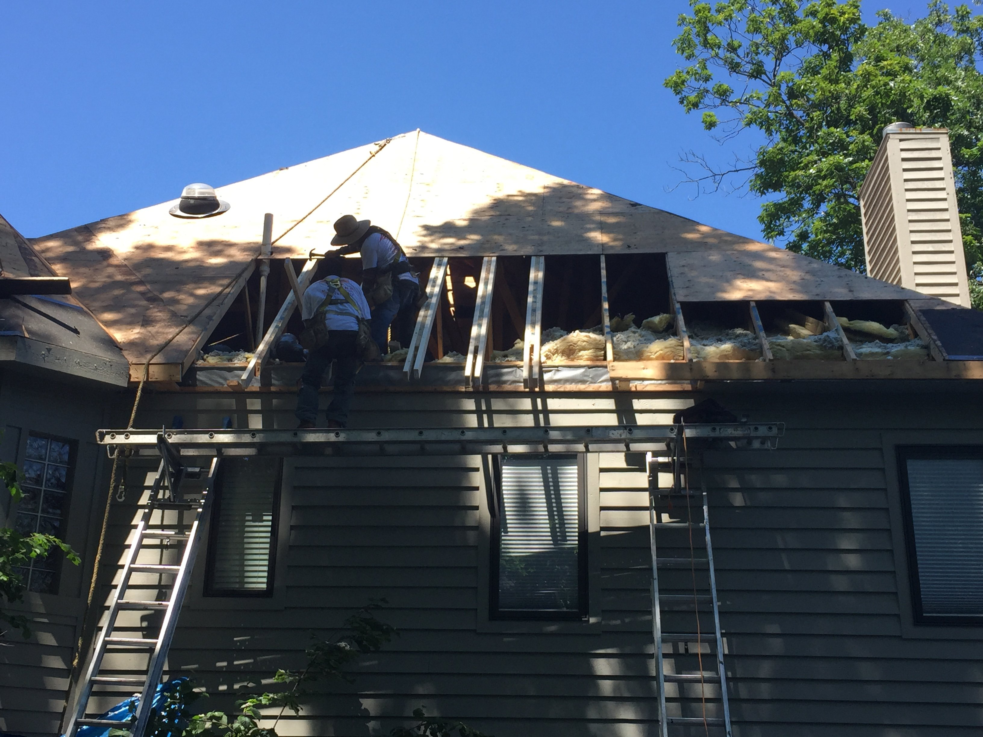 Roofing Install