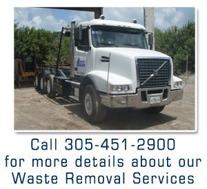 Service Disposal - Key Largo, FL - Atlantic Trash & Transfer, LLC - Call 305-451-2900 for more details about our Waste Removal Services