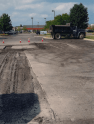 Commercial Parking Work