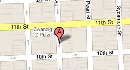Zwanzigz Pizza 1038 Lafayette Ave Columbus, IN 47201