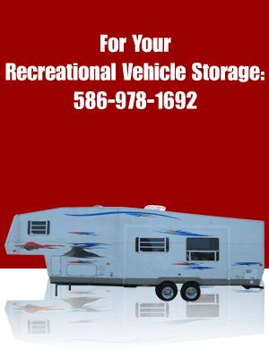Storage Unit - Warren, MI - Red Run Storage - For Your Vehicle Storage: 586-978-1692